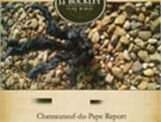2009 Chateauneuf du Pape Report