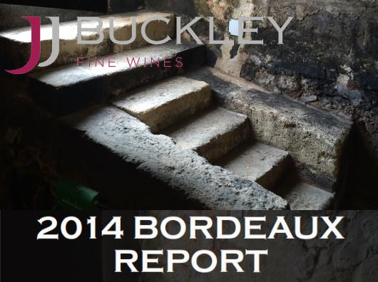JJ Buckley's 2014 Bordeaux Report
