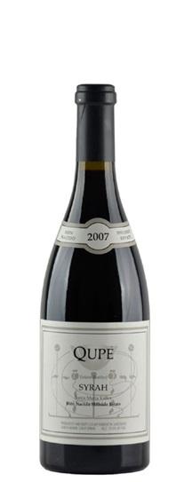 2007 Qupe Syrah Hillside Estate Bien Nacido Vineyard