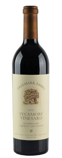 1991 Freemark Abbey Cabernet Sauvignon Sycamore Vineyards