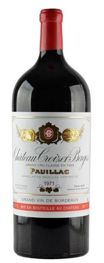 1971 Croizet Bages Bordeaux Blend