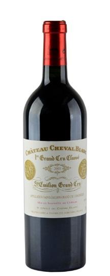 2001 Cheval Blanc Bordeaux Blend