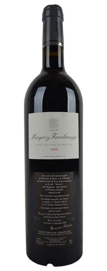 2000 Magrez Fombrauge Bordeaux Blend