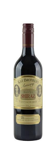 1998 Kay Brothers Shiraz Amery Vineyard Block 6