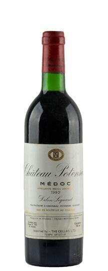 1982 Potensac Bordeaux Blend