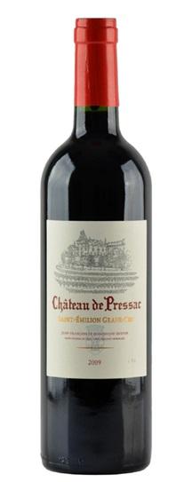 2009 de Pressac, Chateau Bordeaux Blend