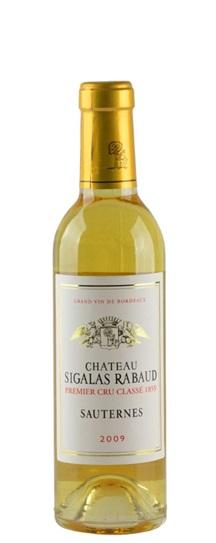 2009 Sigalas Rabaud Sauternes Blend