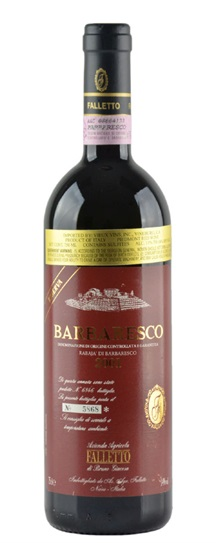2001 Giacosa, Bruno Barbaresco Rabaja Riserva