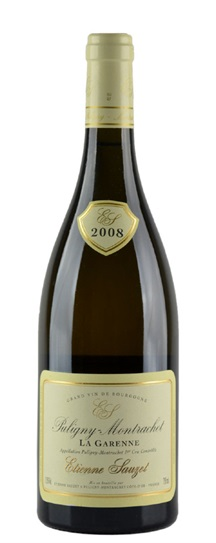 2007 Sauzet, Domaine Etienne Puligny Montrachet la Garenne Premier Cru