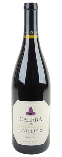 2010 Calera Pinot Noir de Villiers