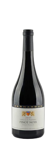 2009 Bernardus Pinot Noir Pisoni Vineyard
