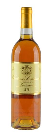 1978 Chateau Suduiraut Sauternes Blend