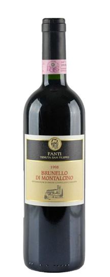 1997 Fanti Brunello di Montalcino