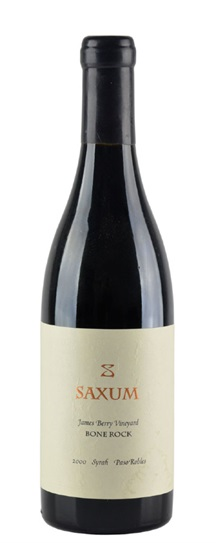 2007 Saxum Syrah James Berry Vineyard Bone Rock