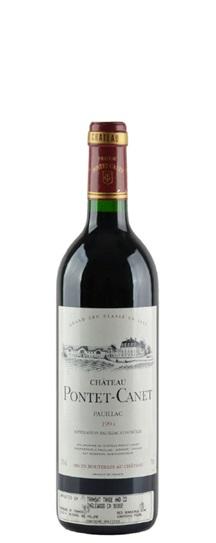 1994 Pontet-Canet Bordeaux Blend