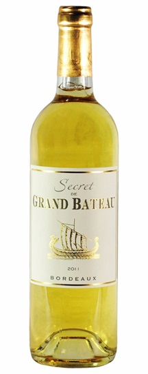 2011 Secret de Grand Bateau Blanc