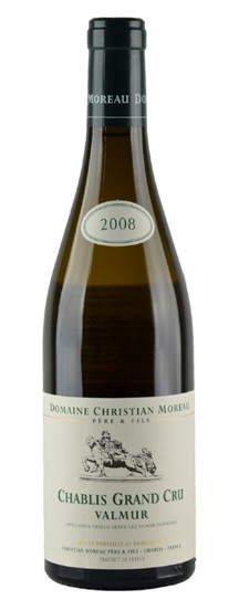 2008 Christian Moreau & Fils Chablis Valmur