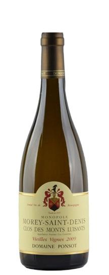 2009 Ponsot, Domaine Morey St Denis Clos des Monts Luisants Vieilles Vignes White