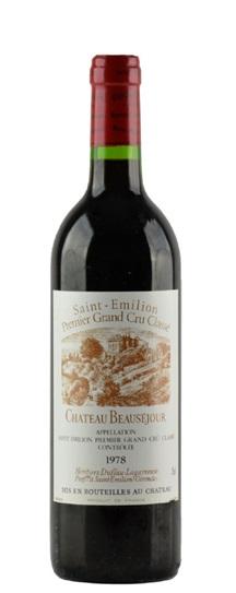 1978 Beausejour (Duffau Lagarrosse) Bordeaux Blend