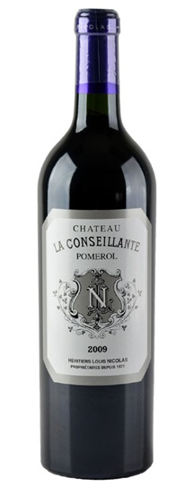 2009 Conseillante, La Bordeaux Blend