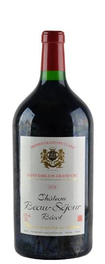 1978 Beau-Sejour-Becot Bordeaux Blend
