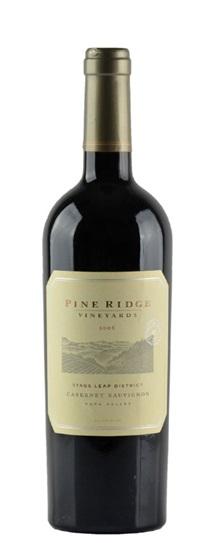 2007 Pine Ridge Cabernet Sauvignon