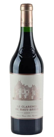 2009 Le Clarence de Haut Brion Bordeaux Blend