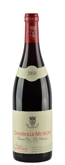 2010 Bertheau, Francois Chambolle Musigny Charmes