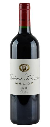 2005 Potensac Bordeaux Blend