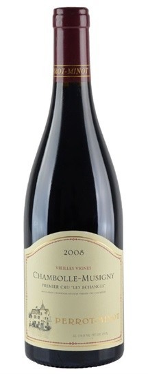 2008 Domaine Perrot-Minot Chambolle Musigny Premier Cru Les Echanges Vieilles Vignes