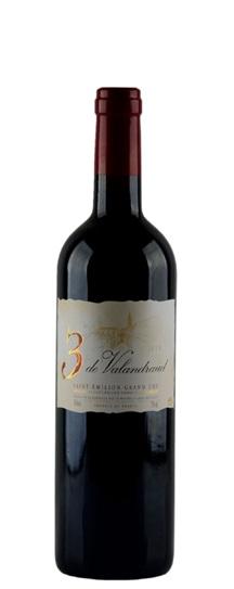 2011 3 de Valandraud Bordeaux Blend