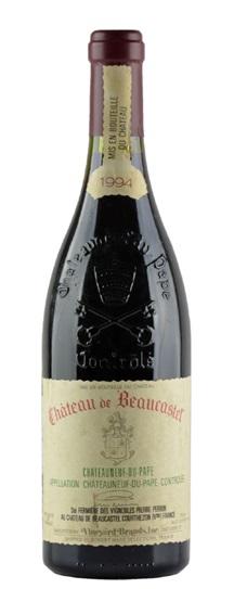 1994 Beaucastel, Chateau Chateauneuf du Pape