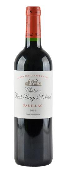 2010 Haut Bages Liberal Bordeaux Blend