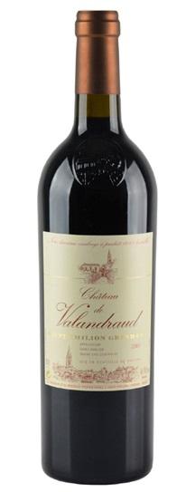2001 Valandraud Bordeaux Blend