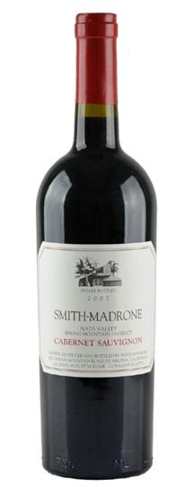2007 Smith-Madrone Cabernet Sauvignon