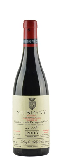 2005 Comte de Vogue Musigny Vieilles Vignes