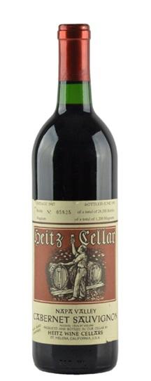 1987 Heitz Cabernet Sauvignon Bella Oaks Vineyard
