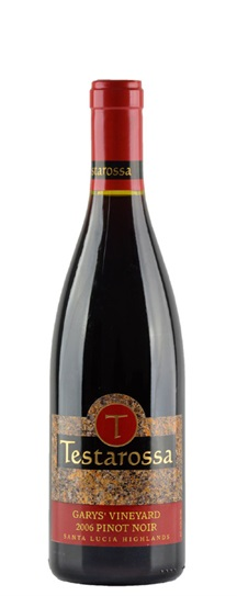 2006 Testarossa Pinot Noir Garys' Vineyard