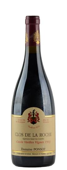 1996 Ponsot, Domaine Clos de la Roche Vieilles Vignes