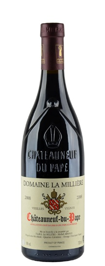 2008 Milliere, Domaine La Chateauneuf du Pape Vieilles Vignes