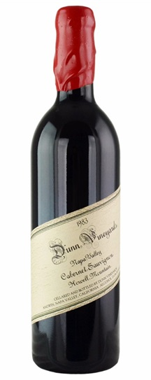 1986 Dunn Cabernet Sauvignon Howell Mountain