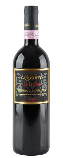 2004 San Filippo Brunello di Montalcino Le Lucere