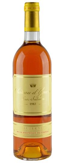1983 Chateau d'Yquem Sauternes Blend