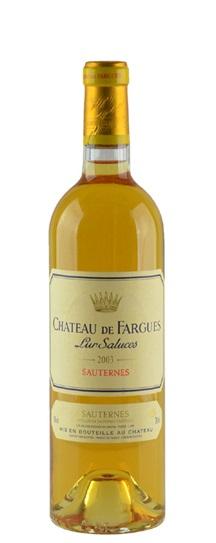 2003 Chateau de Fargues Sauternes Blend