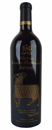 2000 Mouton-Rothschild Bordeaux Blend
