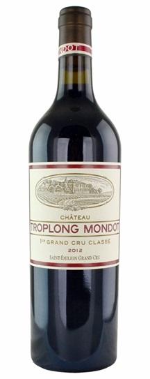 2012 Troplong-Mondot Bordeaux Blend