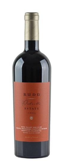 2005 Rudd Estate Oakville Estate Proprietary Red Wine