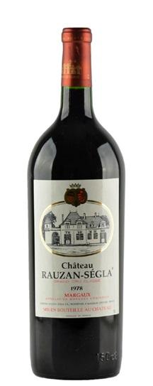 1978 Rauzan-Segla (Rausan-Segla) Bordeaux Blend