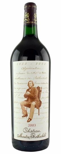 2003 Mouton-Rothschild Bordeaux Blend