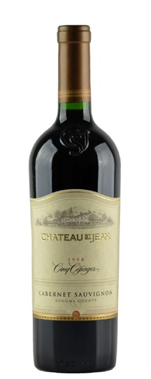 2001 St Jean, Chateau Cinq Cepages